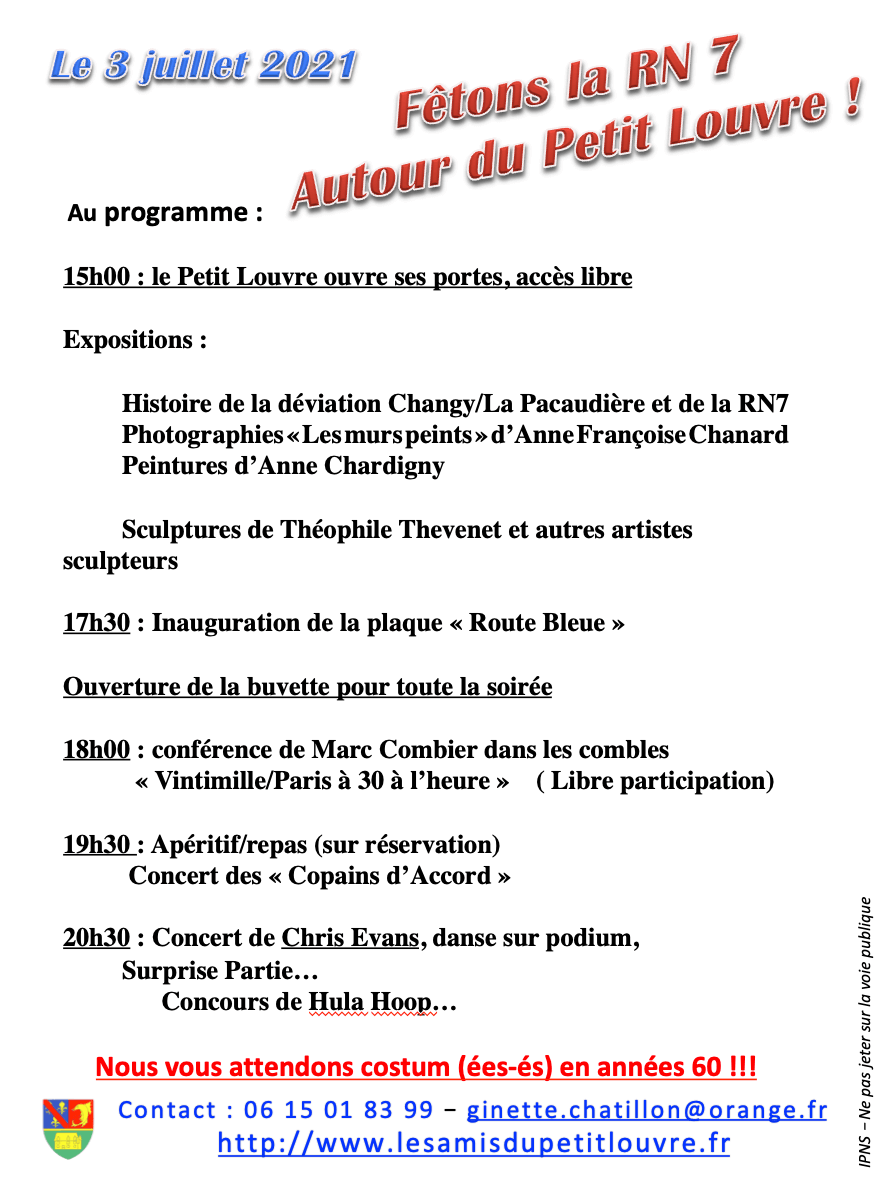 2-Programme du 3 juillet 2021