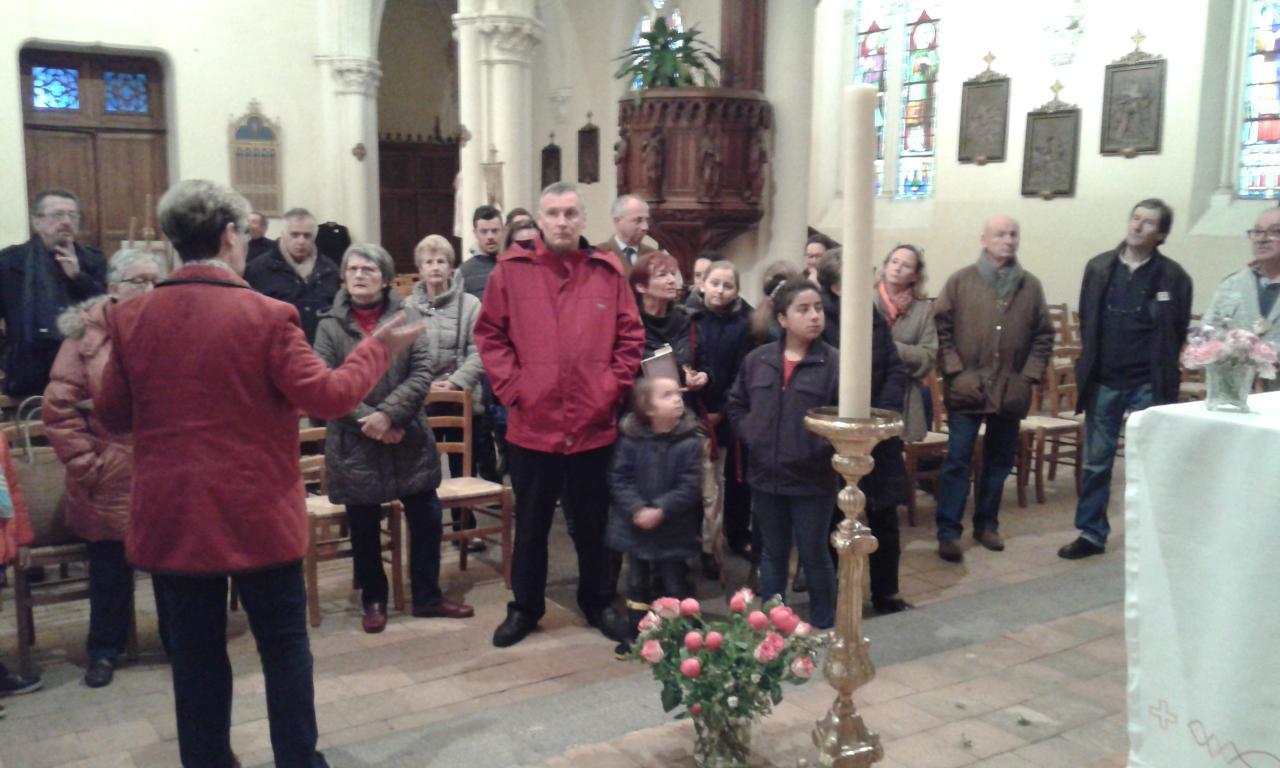 Visite organisée de l'église