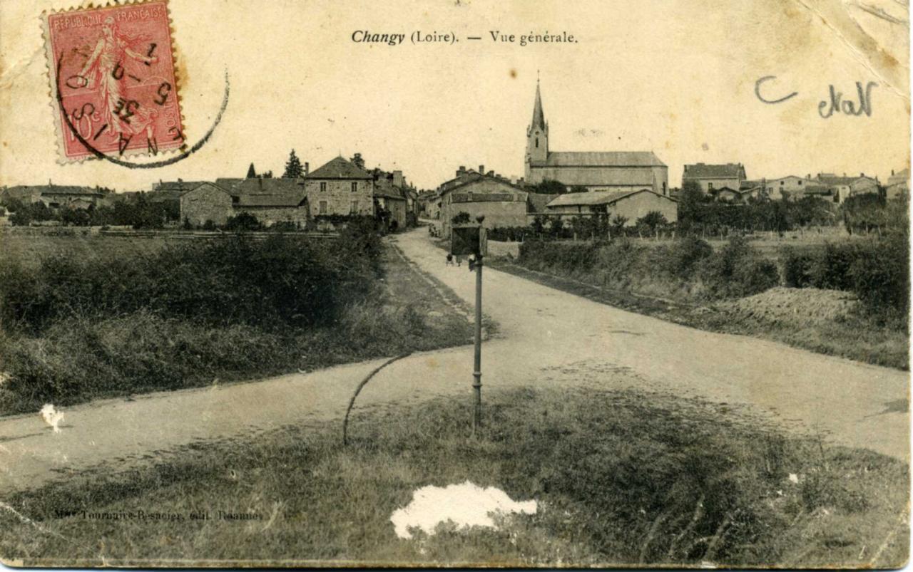 Changy (Loire) 1905