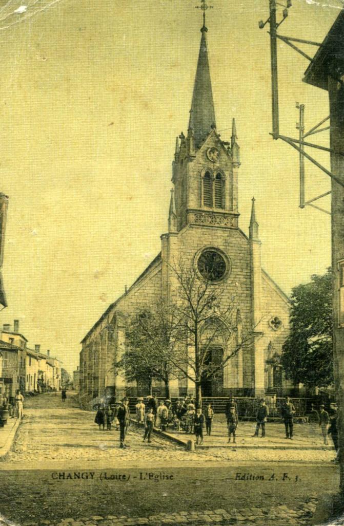 Eglise de Changy (Loire)