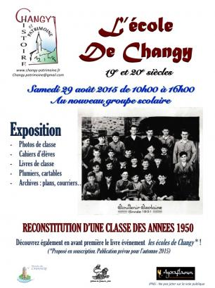 Affiche expo changy
