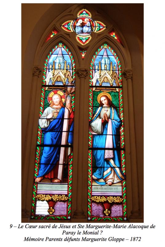 Le Cœur sacré de Jésus et Ste Marguerite-Marie Alacoque de Paray le Monial ?