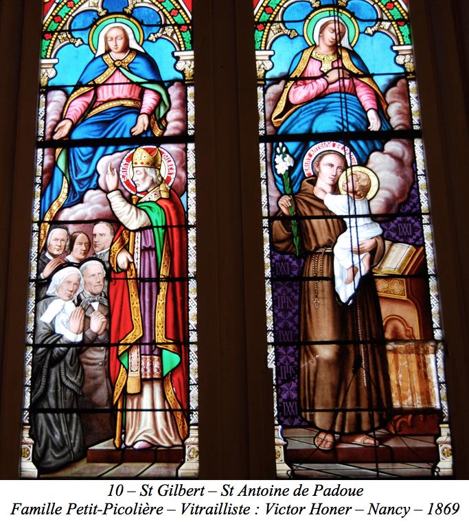 St Gilbert – St Antoine de Padoue