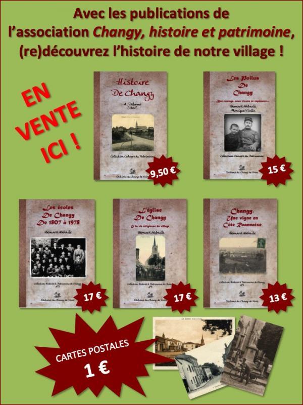 Publications Changy histoire et patrimoine